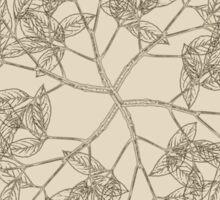 Vintage Wreath Pattern Sticker