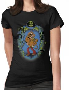 MY CHILDHOOD MONSTERS Womens Fitted T-Shirt