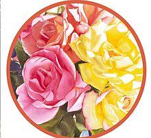 """""""Majolica, Circle"""" by Judy  Koenig"""