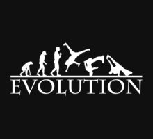 Bboying Evolution (white) by maroodesigns
