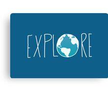Explore the Globe II Canvas Print
