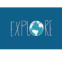 Explore the Globe II Photographic Print