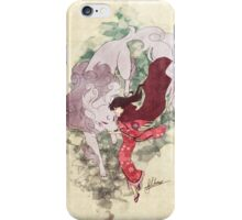 Wild Dogs and Red Capes iPhone Case/Skin