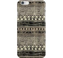 African Geometric Pattern  iPhone Case/Skin