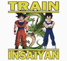 Train Insaiyan Kids Tee