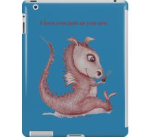 Red Dragon 'I love you just as you are'  iPad Case/Skin