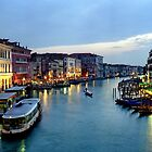 Venice Evening 2 by Larry Costales