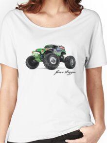 Monster Jam - Grave Digger Women's Relaxed Fit T-Shirt