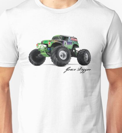 Monster Jam - Grave Digger Unisex T-Shirt