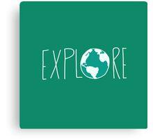 Explore the Globe III Canvas Print