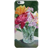 """""""Roses in Crystal, Circle"""" iPhone Case/Skin"""