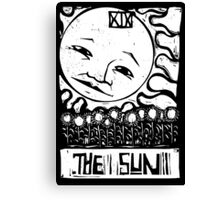 The Sun  - Tarot Cards - Major Arcana Canvas Print