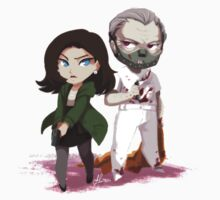 Chibi Hannibal and Clarice by youkaiyume