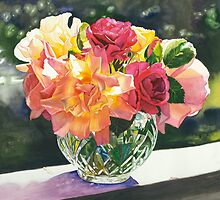 """Rose Bowl"" by Judy  Koenig"