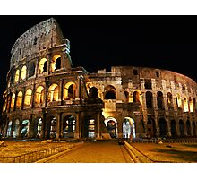 Roman Coliseum Photographic Print