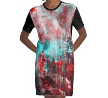 abstract abnormality rb 2 Graphic T-Shirt Dress