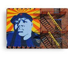 Commandante Biggie Canvas Print