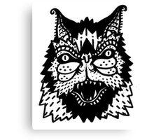 Bat Old School Tattoo Canvas Print