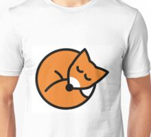 Sleeping red fox Unisex T-Shirt