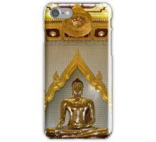"""Golden Buddha"" Wat Traimit Temple, Bangkok, Thailand iPhone Case/Skin"