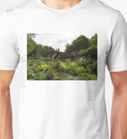 English Cottage Garden - a Blissful Space with a Riot of Flowers Unisex T-Shirt