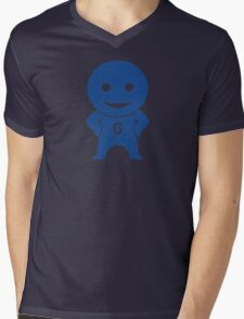 Community - Greendale Comic-Con/Yahoo Inspired Human Beings (BLUE) Mens V-Neck T-Shirt