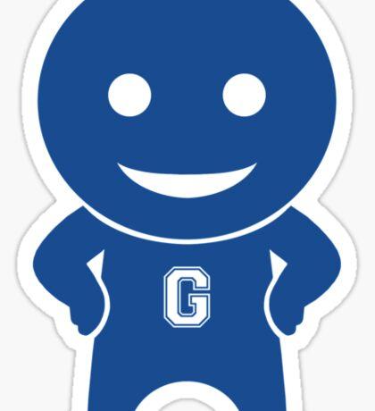 Community - Greendale Comic-Con/Yahoo Inspired Human Beings (BLUE) Sticker