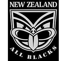 Kiwi All Blacks New Zealand Rugby Photographic Print