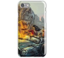 Cadillac & Dinosaurs iPhone Case/Skin