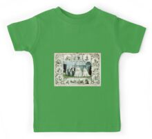 Genl. Tom Thumb and wife, Com. Nutt and Minnie Warren - 1863 - Currier & Ives Kids Tee