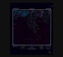 USGS TOPO Map Alaska AK Nushagak Bay 361266 1945 250000 Inverted Unisex T-Shirt