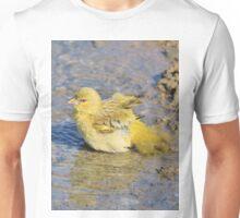 Masked Weaver - African Wild Birds - Happy Days Unisex T-Shirt