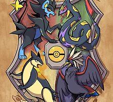 Hogwarts Pokemon League by DragonBeak