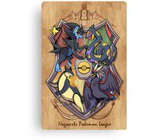 Hogwarts Pokemon League Canvas Print