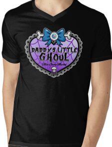 Daddys Little Ghoul Mens V-Neck T-Shirt