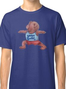 Warrior Yoga Bear  Classic T-Shirt