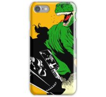T-Rex Driving iPhone Case/Skin