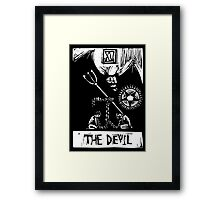 The Devil  - Tarot Cards - Major Arcana Framed Print
