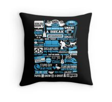 Central Perk. You fell asleep. I know Throw Pillow