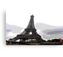 Eiffel ing5 Canvas Print