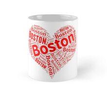 Boston - Red Heart Mug