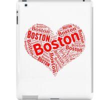 Boston - Red Heart iPad Case/Skin