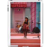 singing contest iPad Case/Skin
