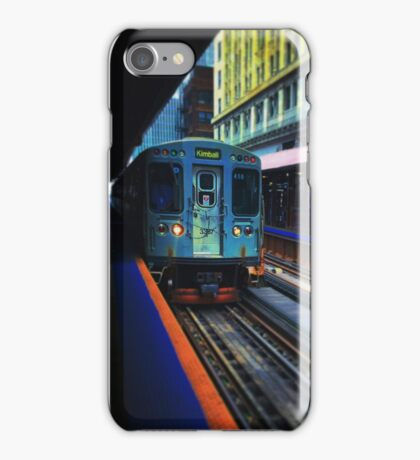 Vibrant Train iPhone Case/Skin