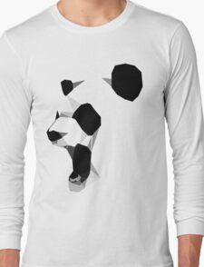 poly graphic panda Long Sleeve T-Shirt