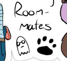 Spoopy Roommates Sticker