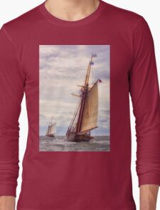 Trailing The Whaler Long Sleeve T-Shirt