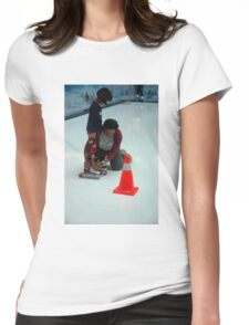 inline skate Womens Fitted T-Shirt