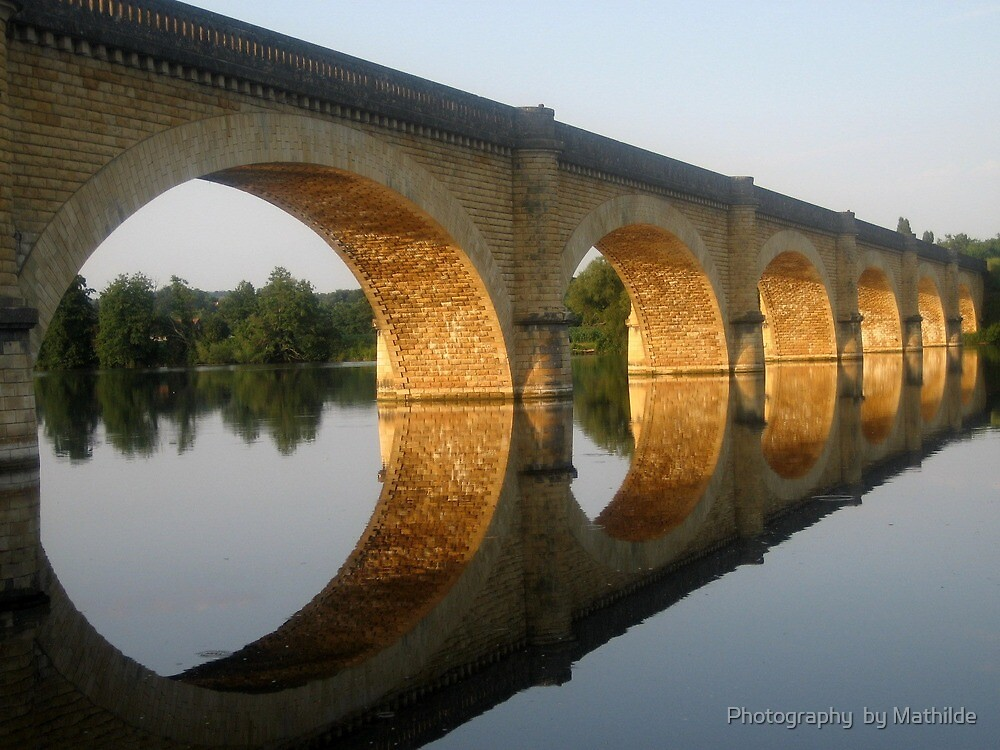"""Reflected  tranquility""  -  Mauzac, France by Photography by Mathilde"