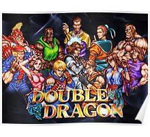 Double Dragon Arcade Poster